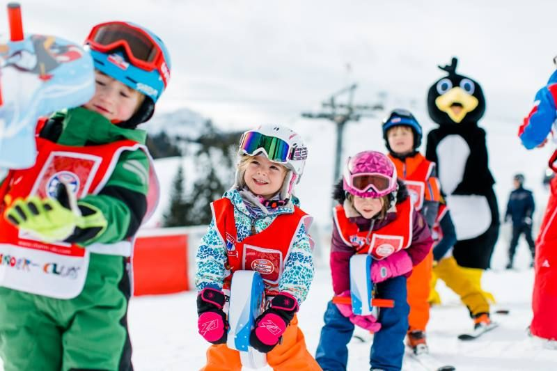 Kinderskikurs Skikurs Lofer Winter 2