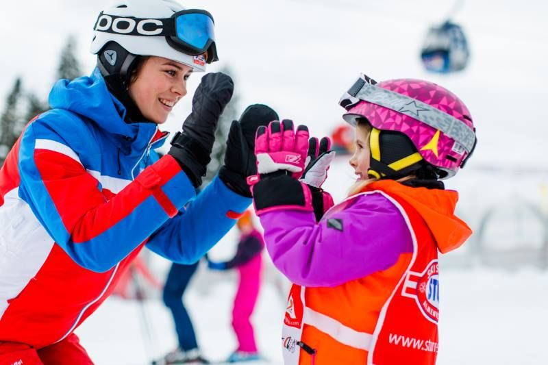 Kinderskikurs Skikurs Lofer Winter 6